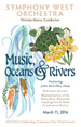 Music, Oceans and Rivers, March 11, 2016