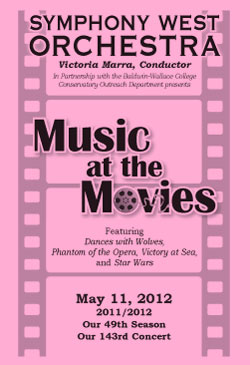 May 11, 2012 program cover