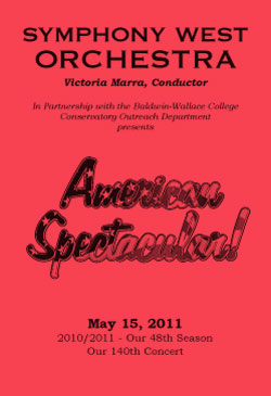 May 15, 2011 program cover