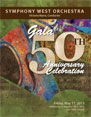 Gala 50th Anniversary Celebration, May 17, 2013