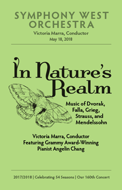 May 18, 2018 program cover