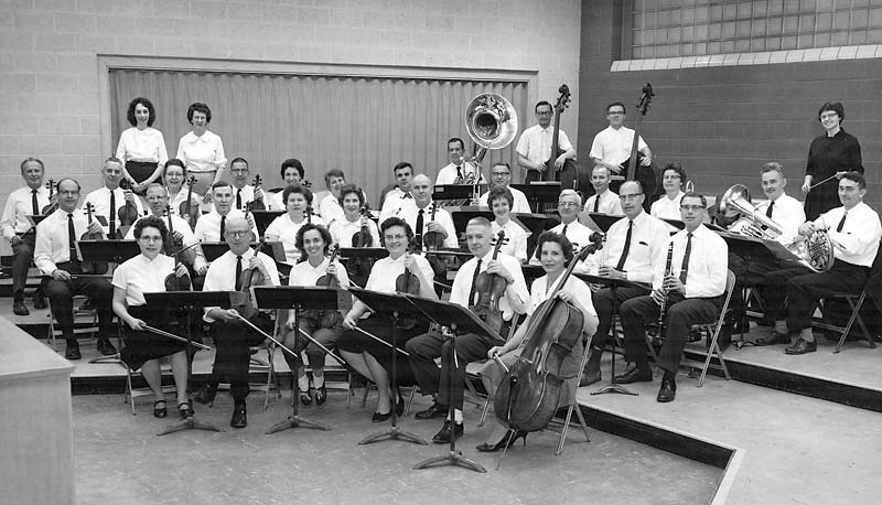 Symphony West in 1963