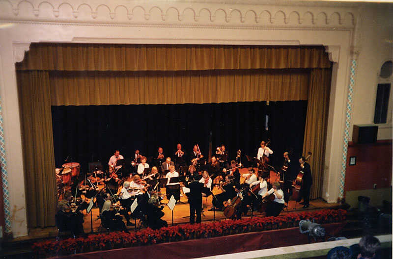 Symphony West Orchestra in the 1990s