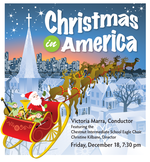 Symphony West December 18, 2015 Concert Christmas in America