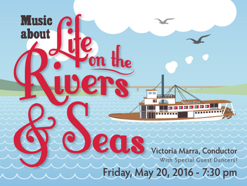 Symphony West May 20, 2016 Concert Music About Life on the Rivers and Seas