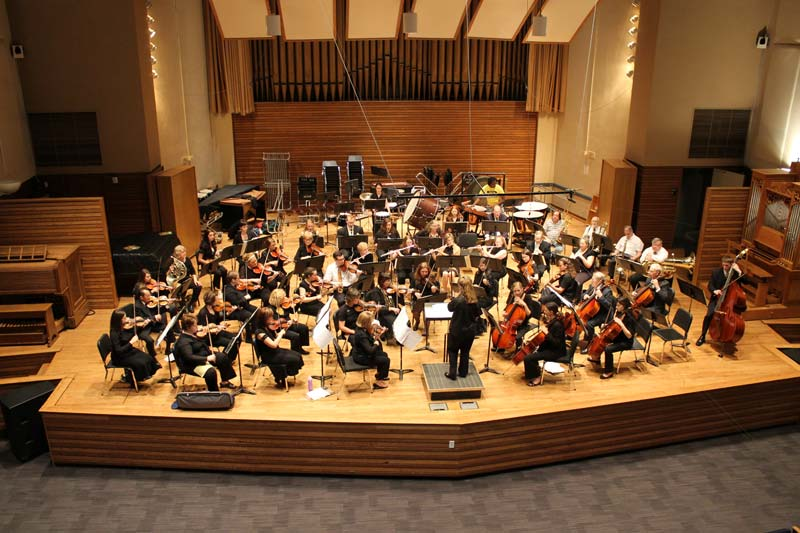 Symphony West Orchestra in 2013