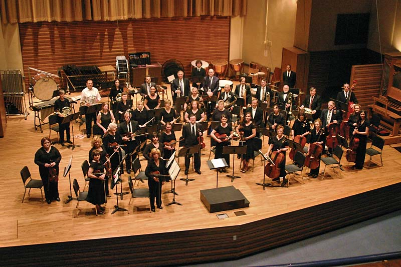 Symphony West Orchestra in 2007