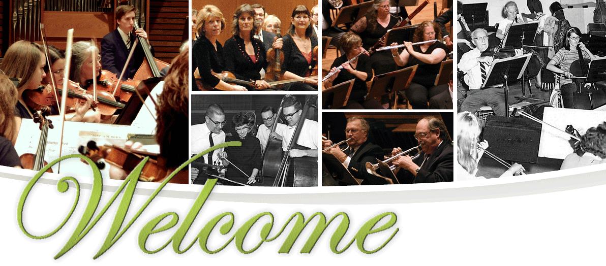 Symphony West Orchestra, 1963-Today - Welcome